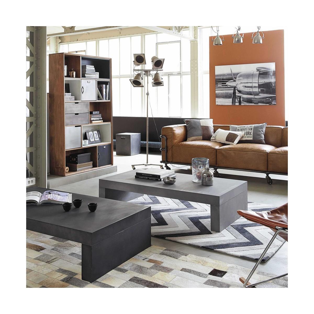 Table : Table De Jardin Effet Beton ~ Meilleures idées pour la ...