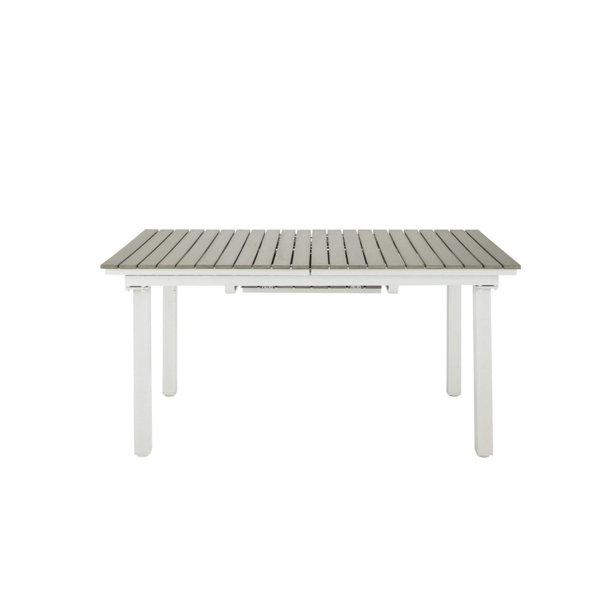 Best table de jardin plastique imitation bois contemporary for Table de jardin en bois
