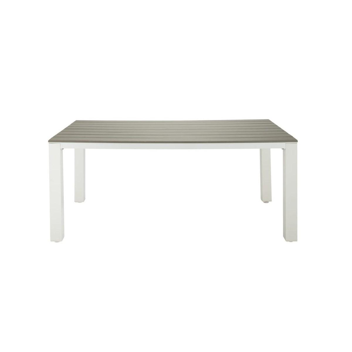 Emejing Table De Jardin En Aluminium Imitation Bois Pictures ...