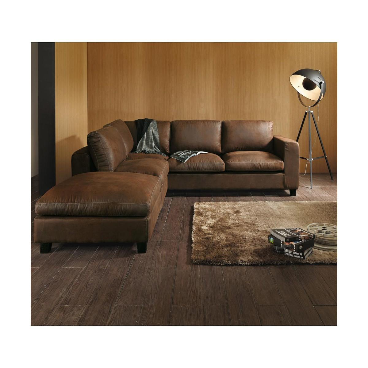 canape suedine marron – idées d'images à la maison