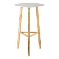 simple table ronde haute de salle manger with table de bar maison du monde. Black Bedroom Furniture Sets. Home Design Ideas