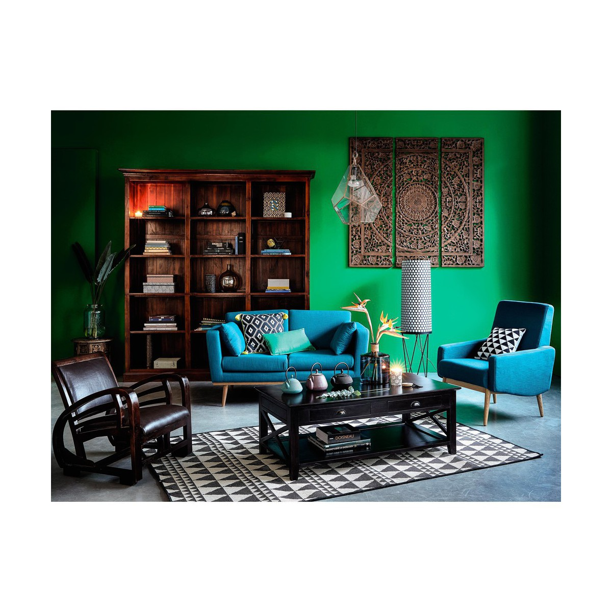 canap bleu ptrole latest ptrole l canap places fifties bleu canard l with canap bleu ptrole. Black Bedroom Furniture Sets. Home Design Ideas