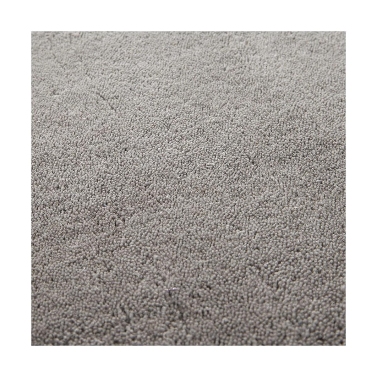 Carrelage Design tapis poil court : tapis-a-poils-courts-en-laine-gris-160-x-230-cm-soft-1000-7-12-156509 ...