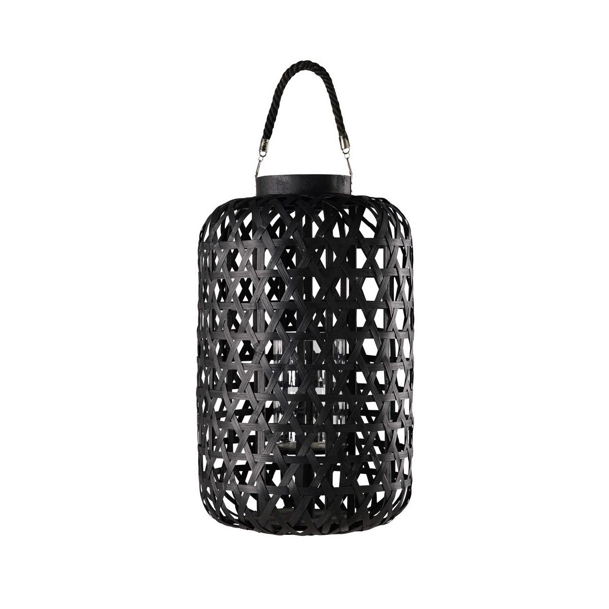 lanterne en tressage noir kumasi with lanterne maison du monde. Black Bedroom Furniture Sets. Home Design Ideas