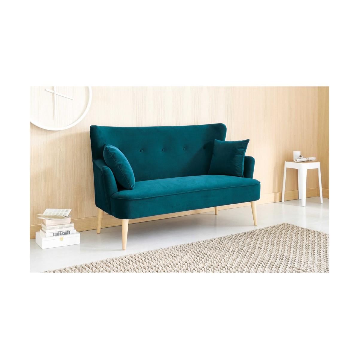 canap bleu ptrole latest ptrole l canap places fifties bleu canard l with canap bleu ptrole. Black Bedroom Furniture Sets. Home Design Ideas