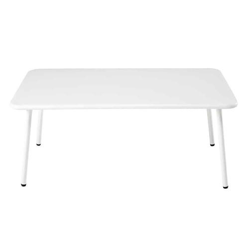 Table Basse Jardin Metal Blanc - 20.8.kaartenstemp.nl •
