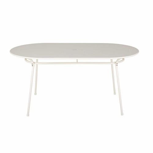 Table De Jardin Ovale En Metal ~ Jsscene.com : Des idées ...