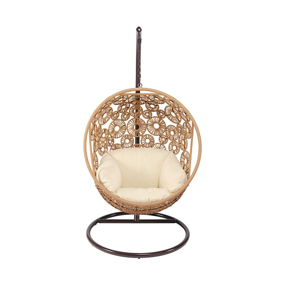 chaise suspendue maison du monde. Black Bedroom Furniture Sets. Home Design Ideas