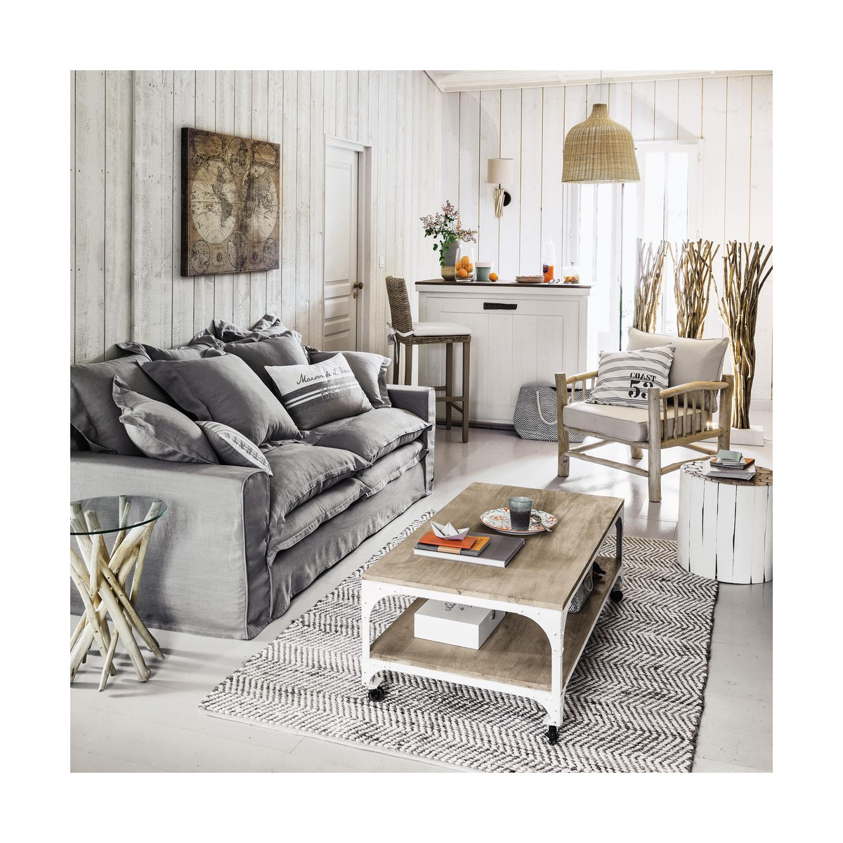 meuble bois gris vieilli latest lovely peinture effet vieilli blanc with meuble bois gris. Black Bedroom Furniture Sets. Home Design Ideas