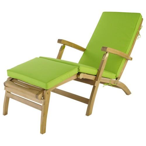 Matelas Chaise Longue Vert L 185 Cm 1000