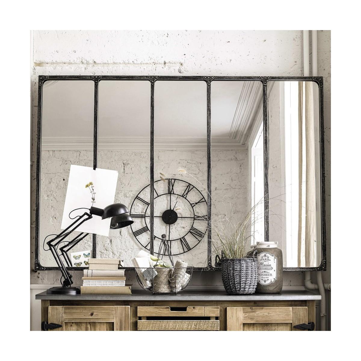 Miroir Cargo Source Maison Du Monde