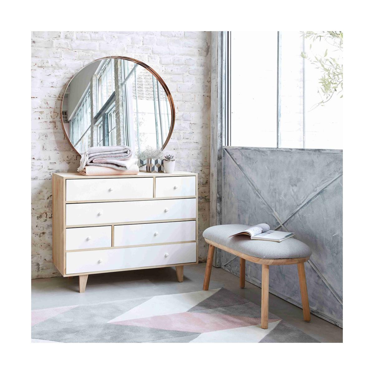 miroir rond metal maison du monde ventana blog. Black Bedroom Furniture Sets. Home Design Ideas